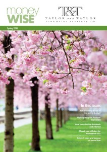Moneywise Spring Front cover